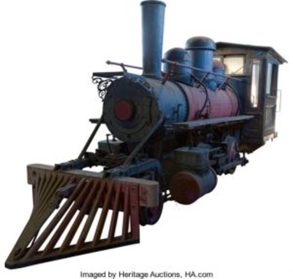 Jennie KI locomotive