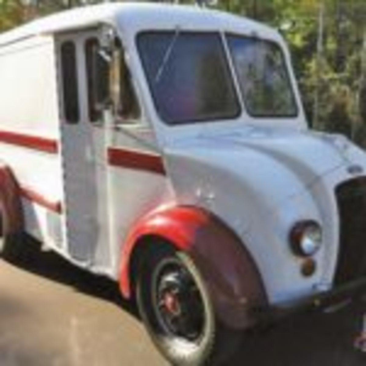 Divco Model U Rosenberger's Dairies Delivery truck