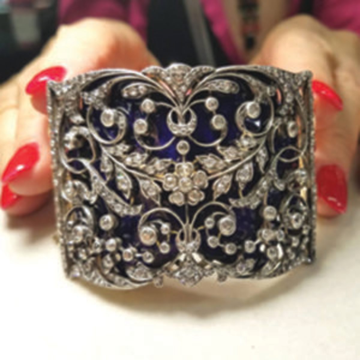 Fine jewelry offered at Grand Bazaar NYC