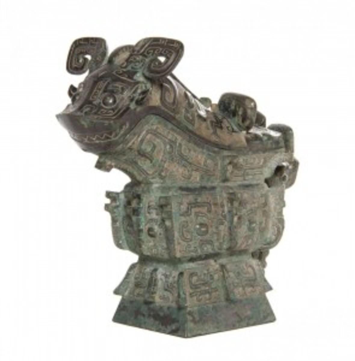 Ritual gong vessel