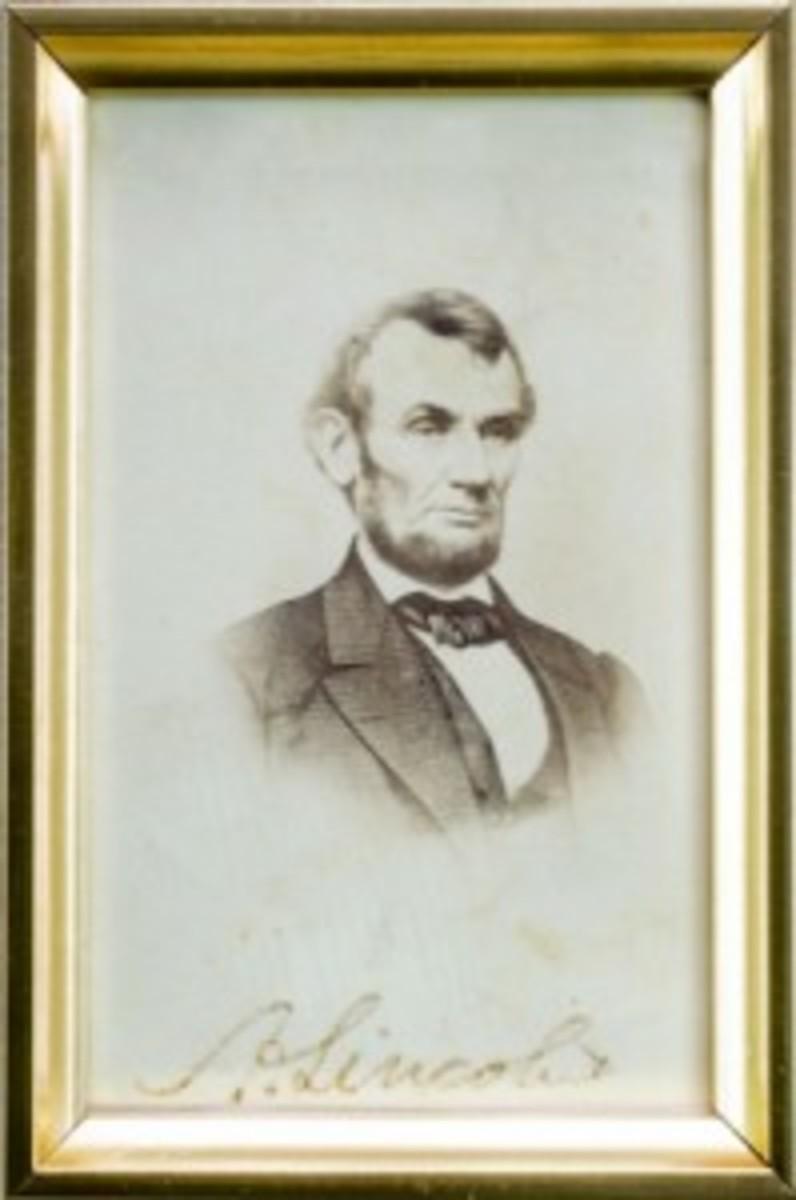 Lincoln photograph