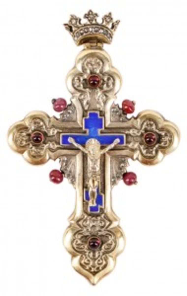 Faberge cross