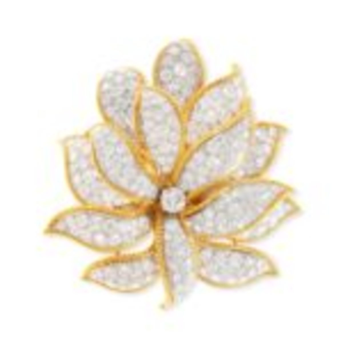David Webb diamond brooch
