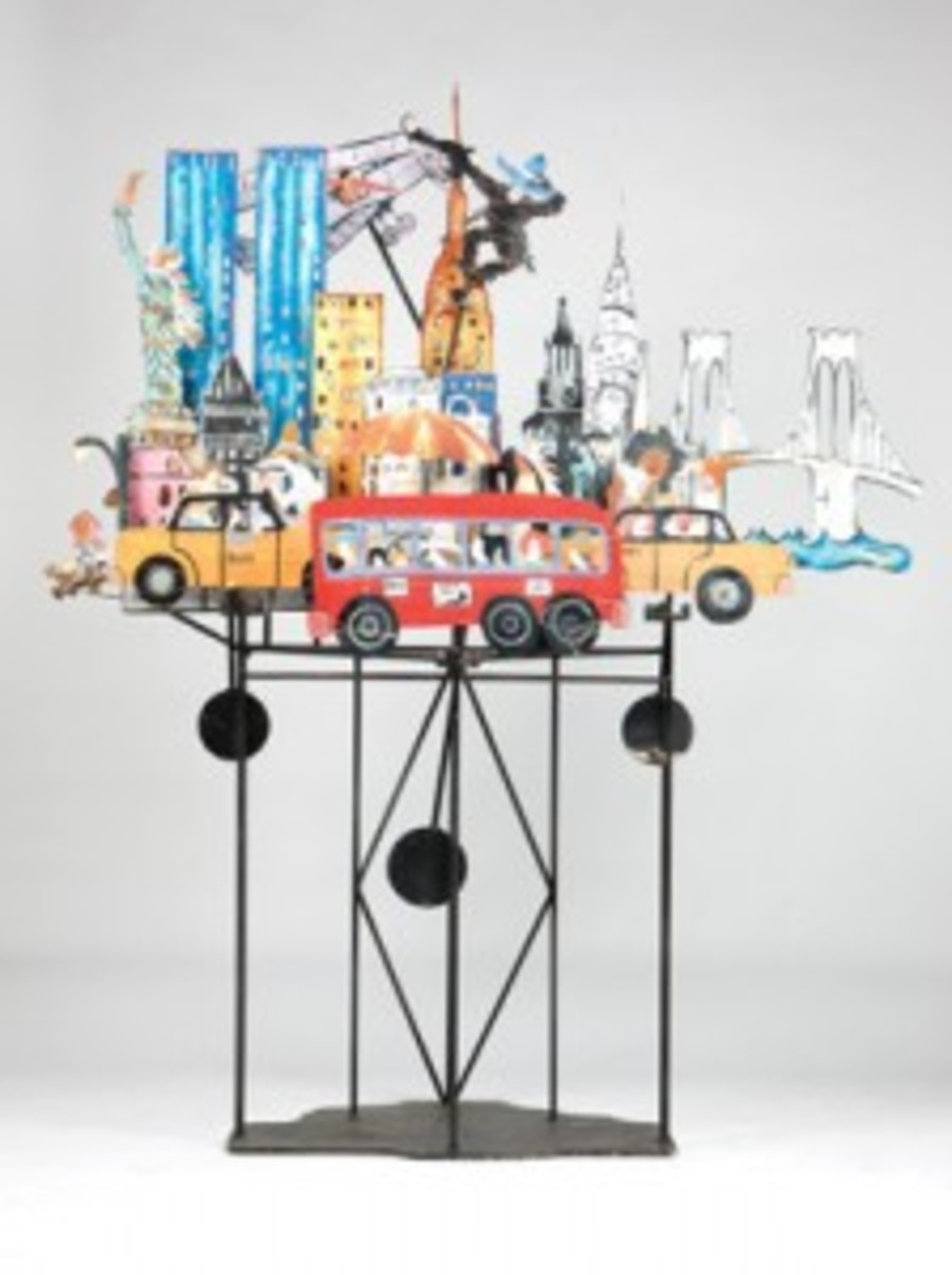 Prescott kinetic sculpture