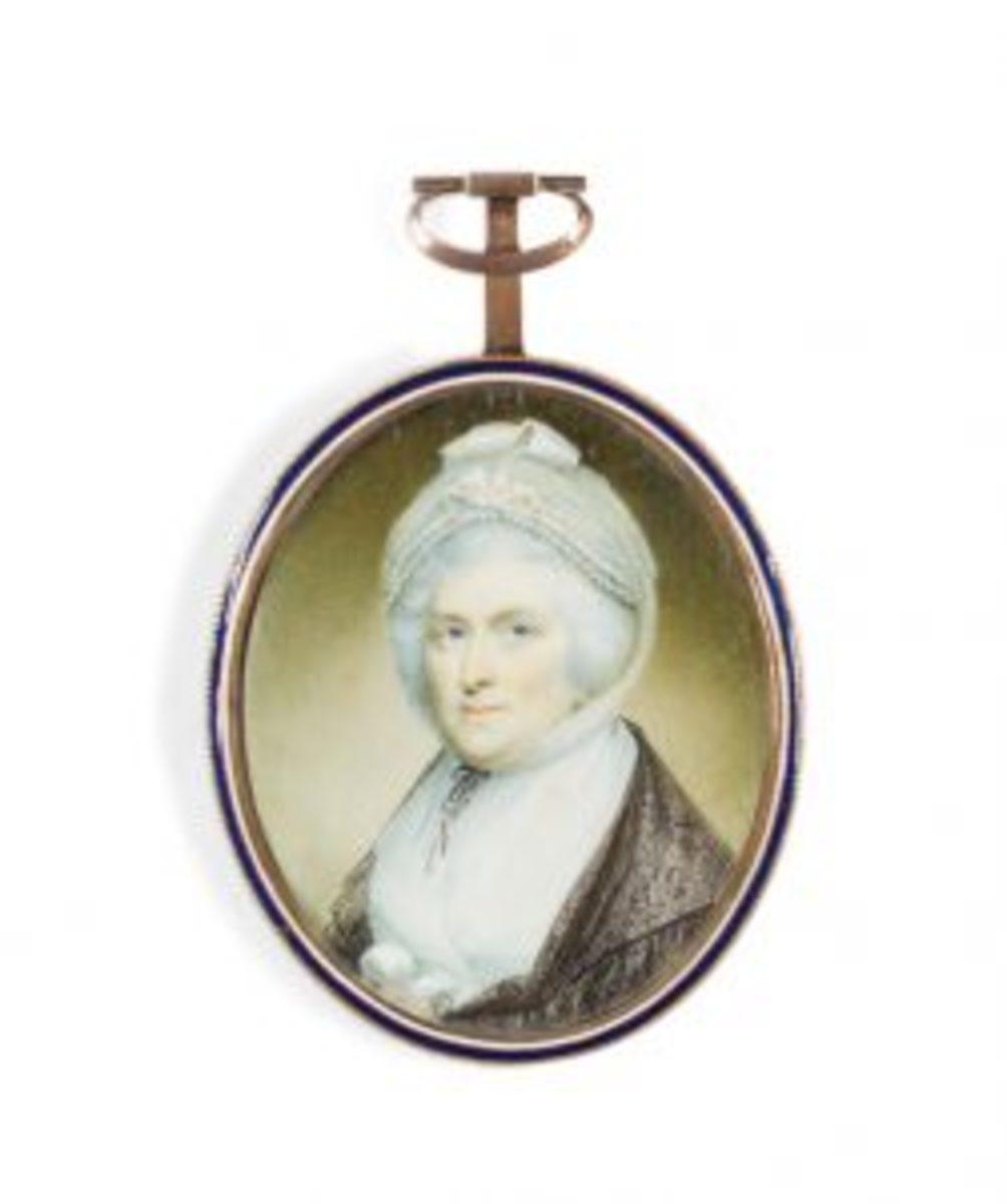 Miniature of Martha Washington