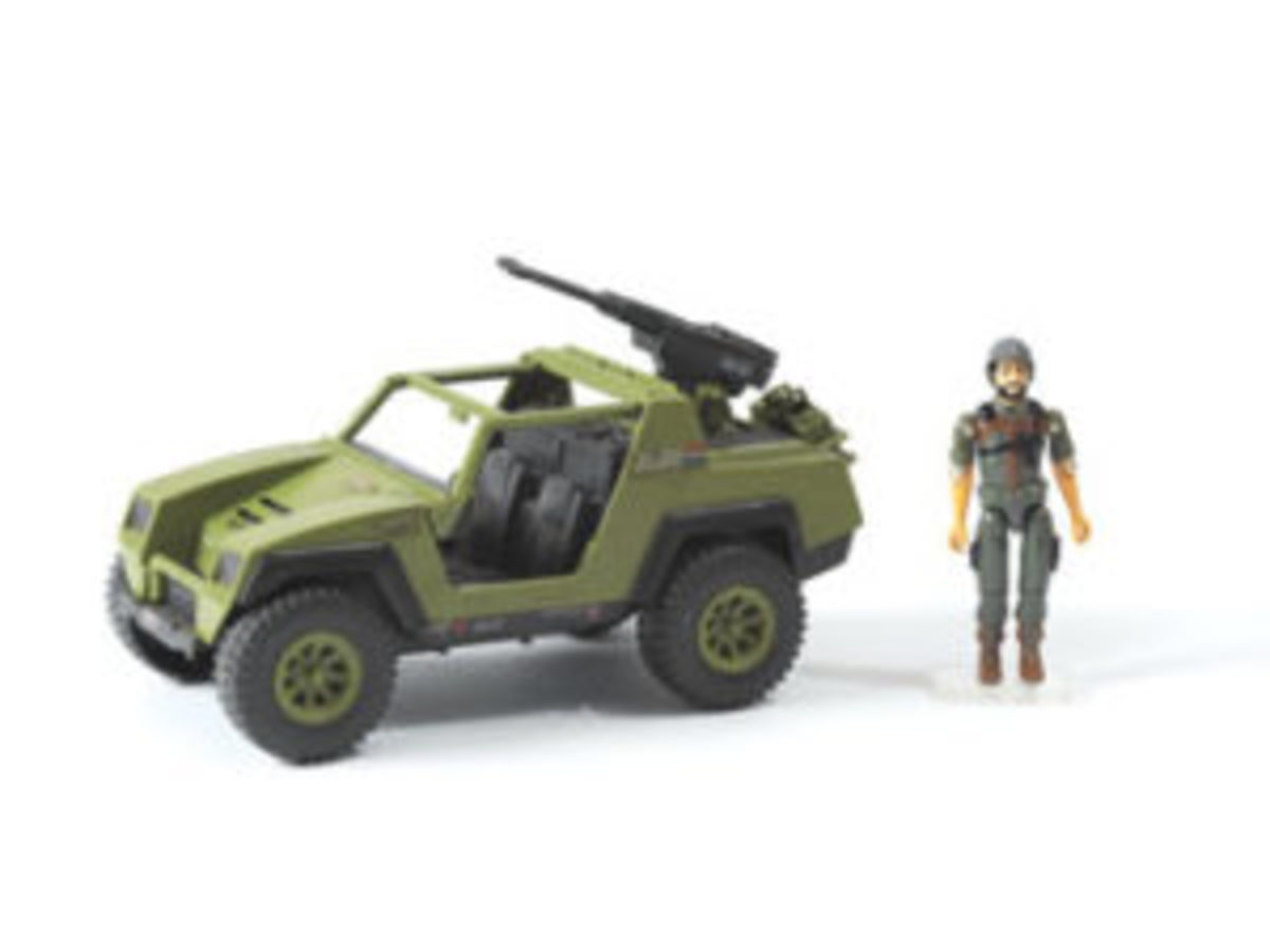 The VAMP was the free-wheeling standard-use jeep of the G.I. Joe team first issued in 1982. The VAMP, along with driver Clutch, was the first vehicle author Mark Bellomo bought when he was 11.
