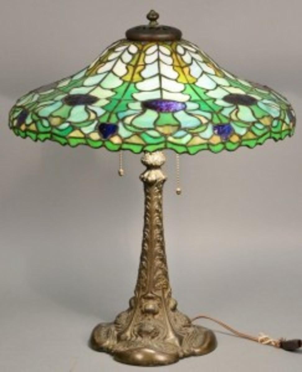 Duffner & Kimberly lamp