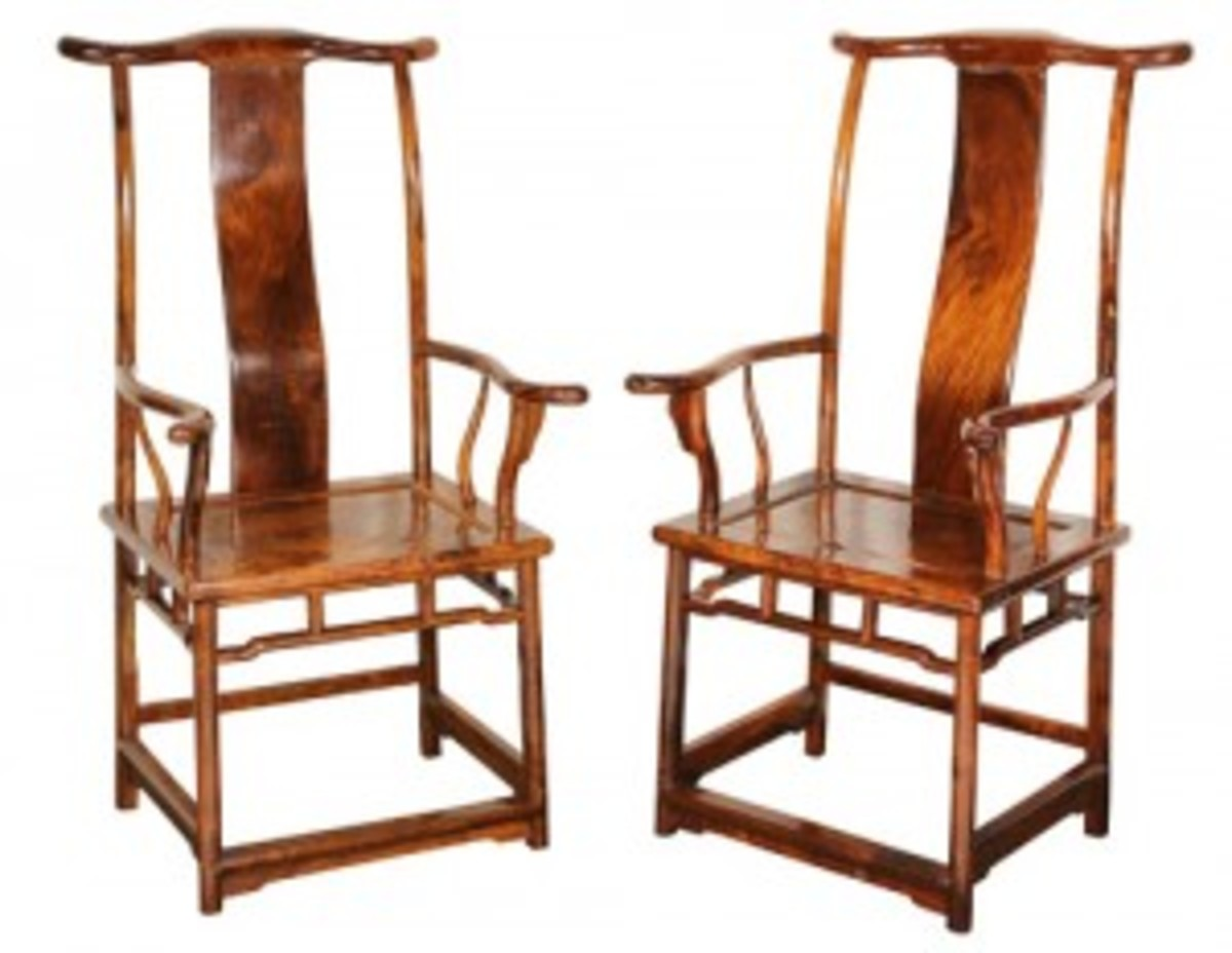 huanghuali armchairs