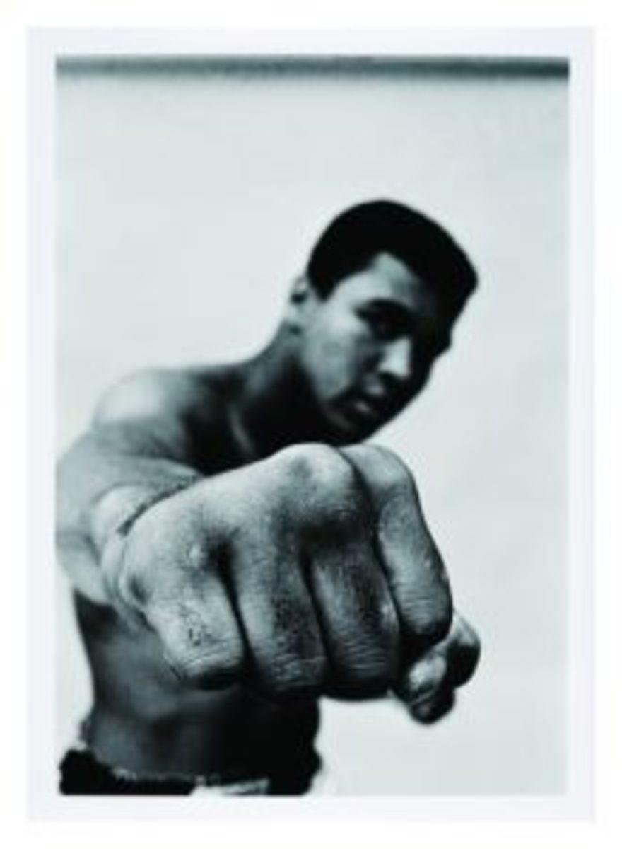 Muhammad Ali's fist