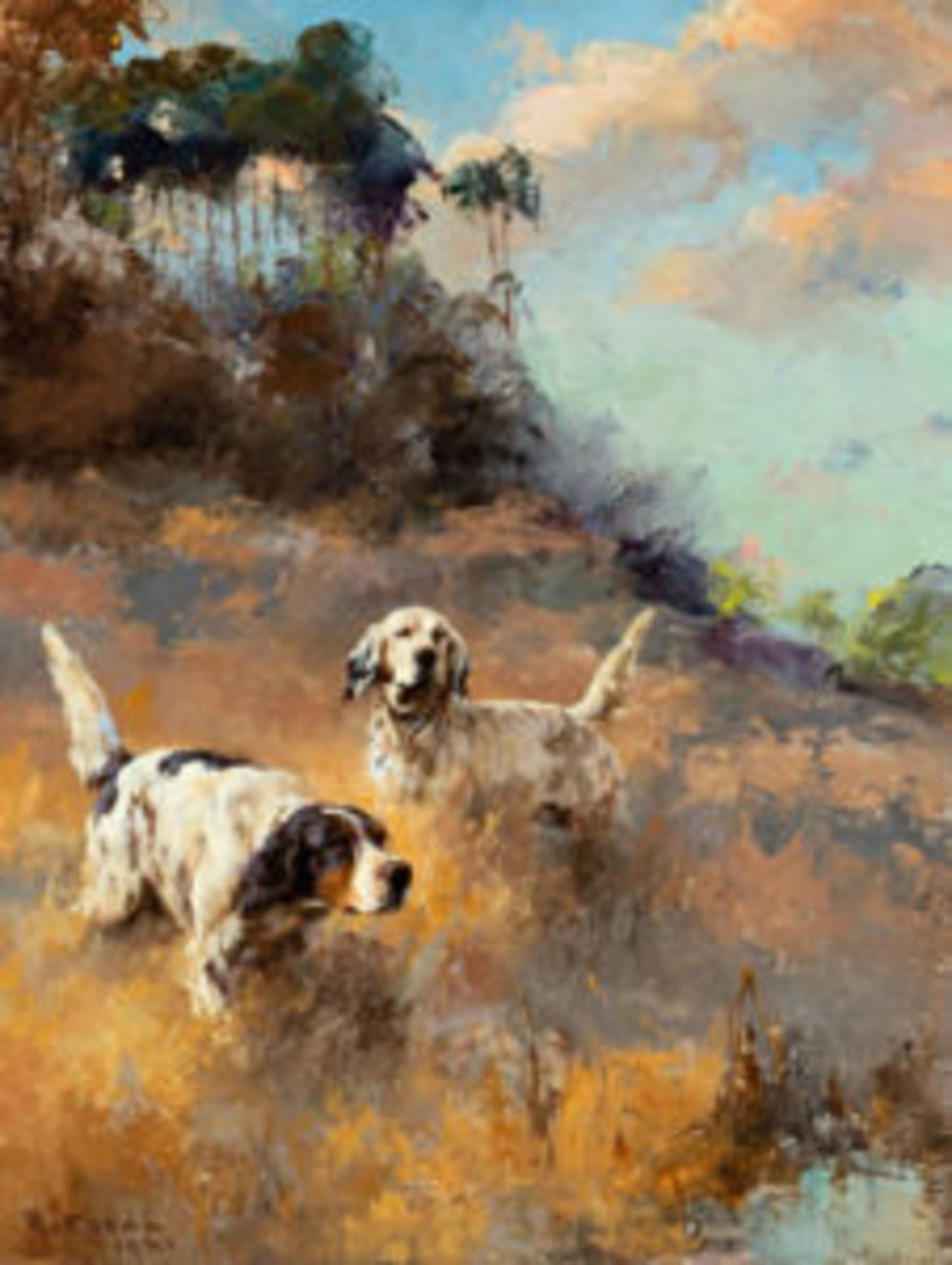 Percival Leonard Rosseau (1859-1937), Perfection: Ned and Bob, oil on canvas, 18 by 14 in., Estimate: $30,000-$50,000