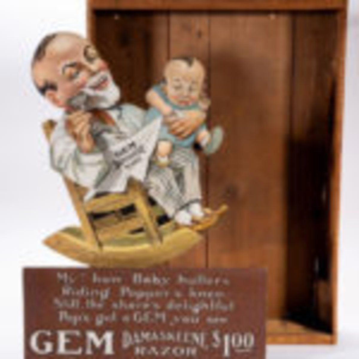 GEM Razors mechanical store display, Lot 1159, $4,680.