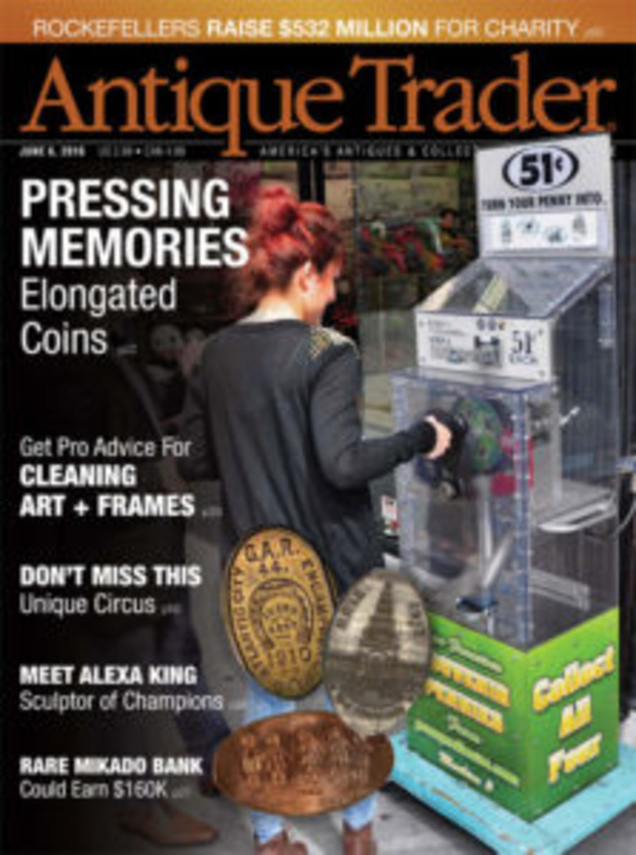The June 6 issue of Antique Trader.