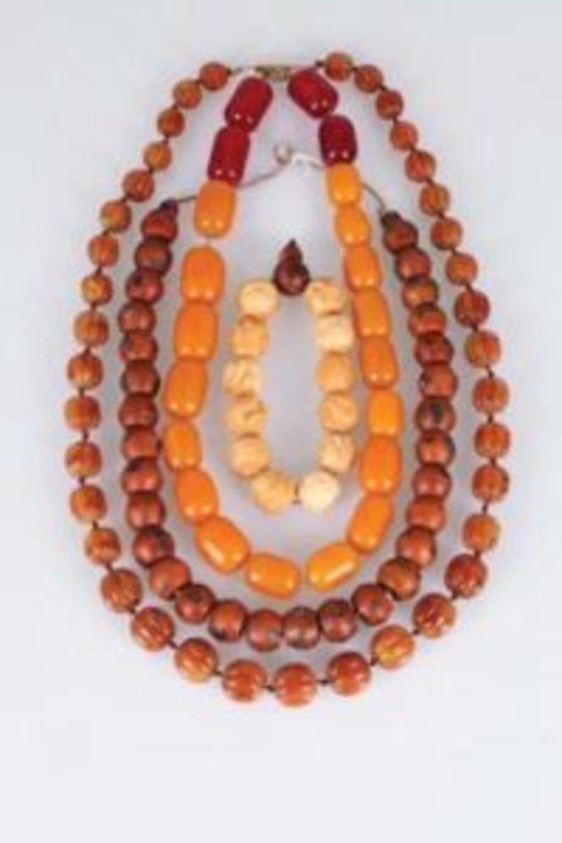Tibetan prayer beads