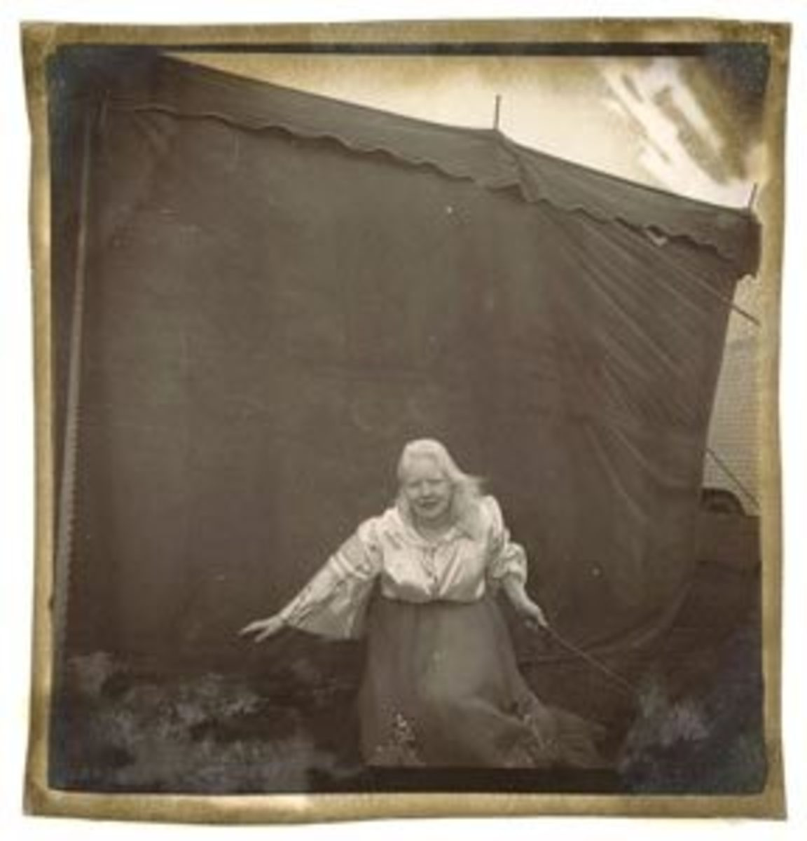 Albino Lady Sword Swallower Photos, $28,800