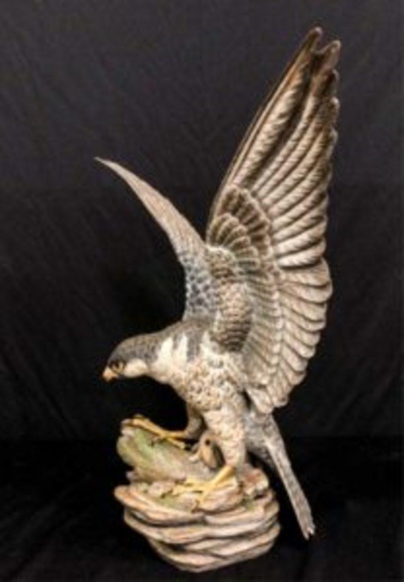"""Boehm porcelain """"Raptor,"""""""