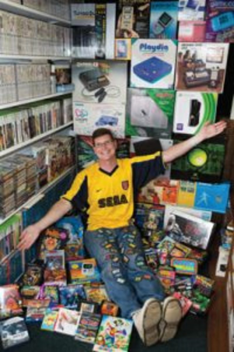 Michael Thomasson record-setting video game collection