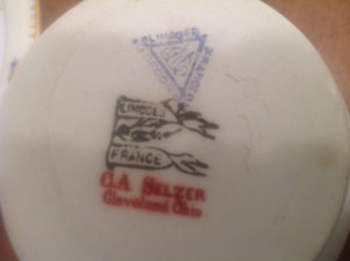 Limoges porcelain marks