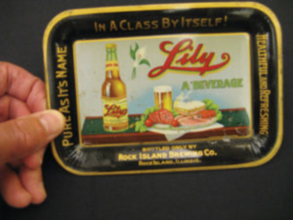 Rock Island Brewing Co. tip tray