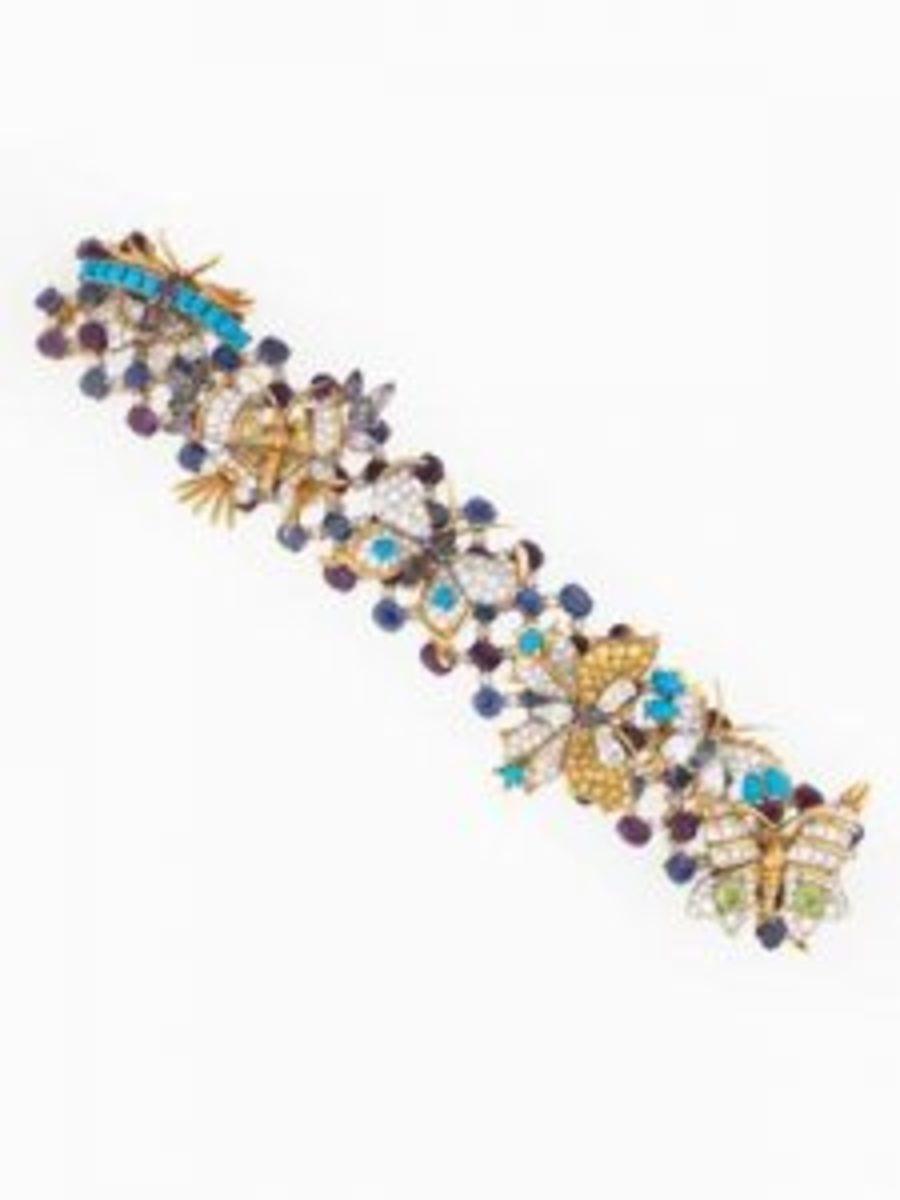 Butterflies bracelet, Jean Schlumberger