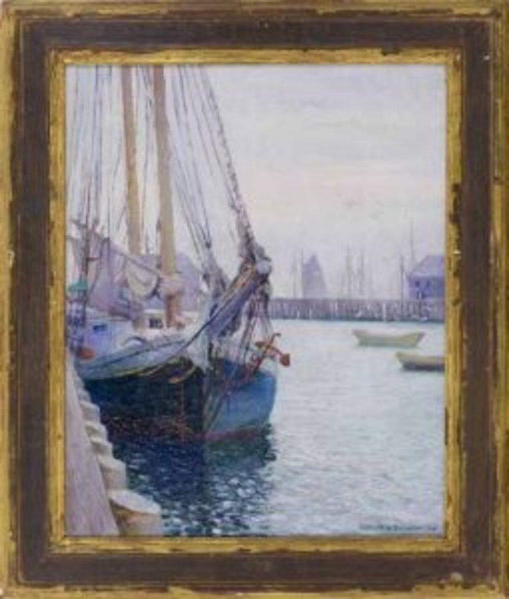 Gerrit Albertus Beneker painting