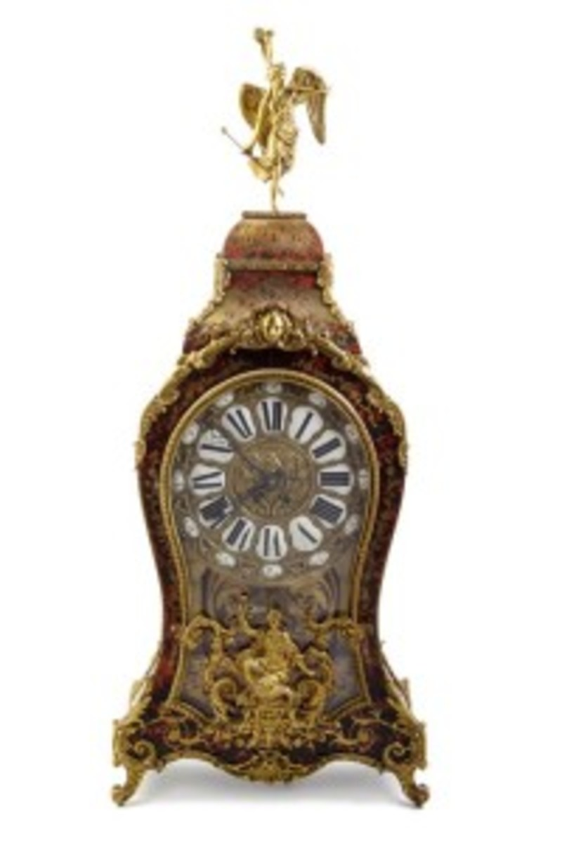 Louis XV Style Boulle clock