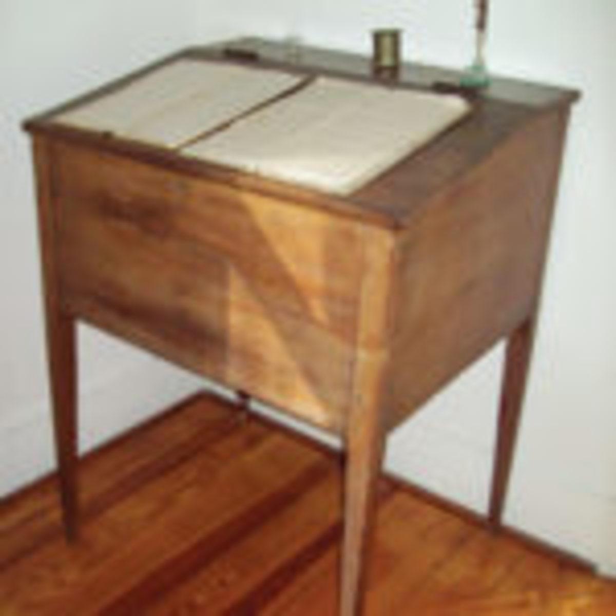clerk's desk