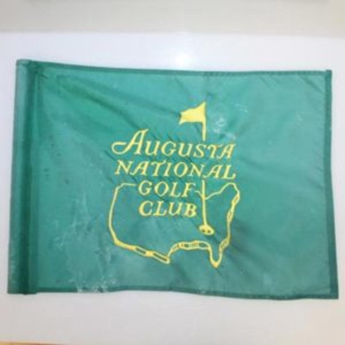 Signed Masters flag