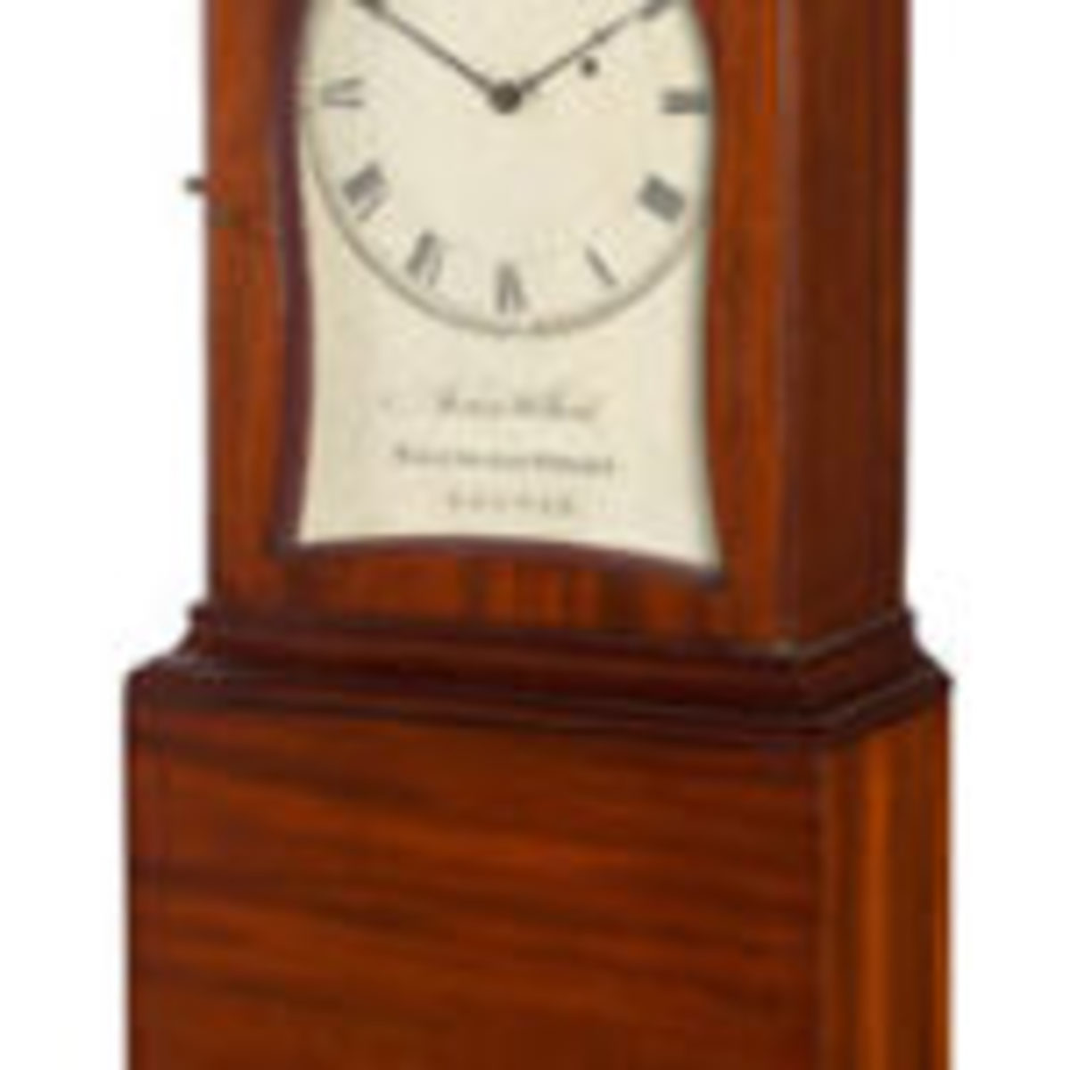Boston Federal mahogany shelf clock