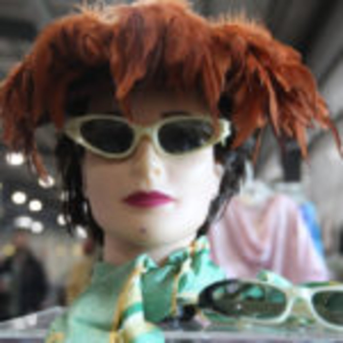 Vintage fashion treasures always can be found at Zurko's monthly Grayslake markets.