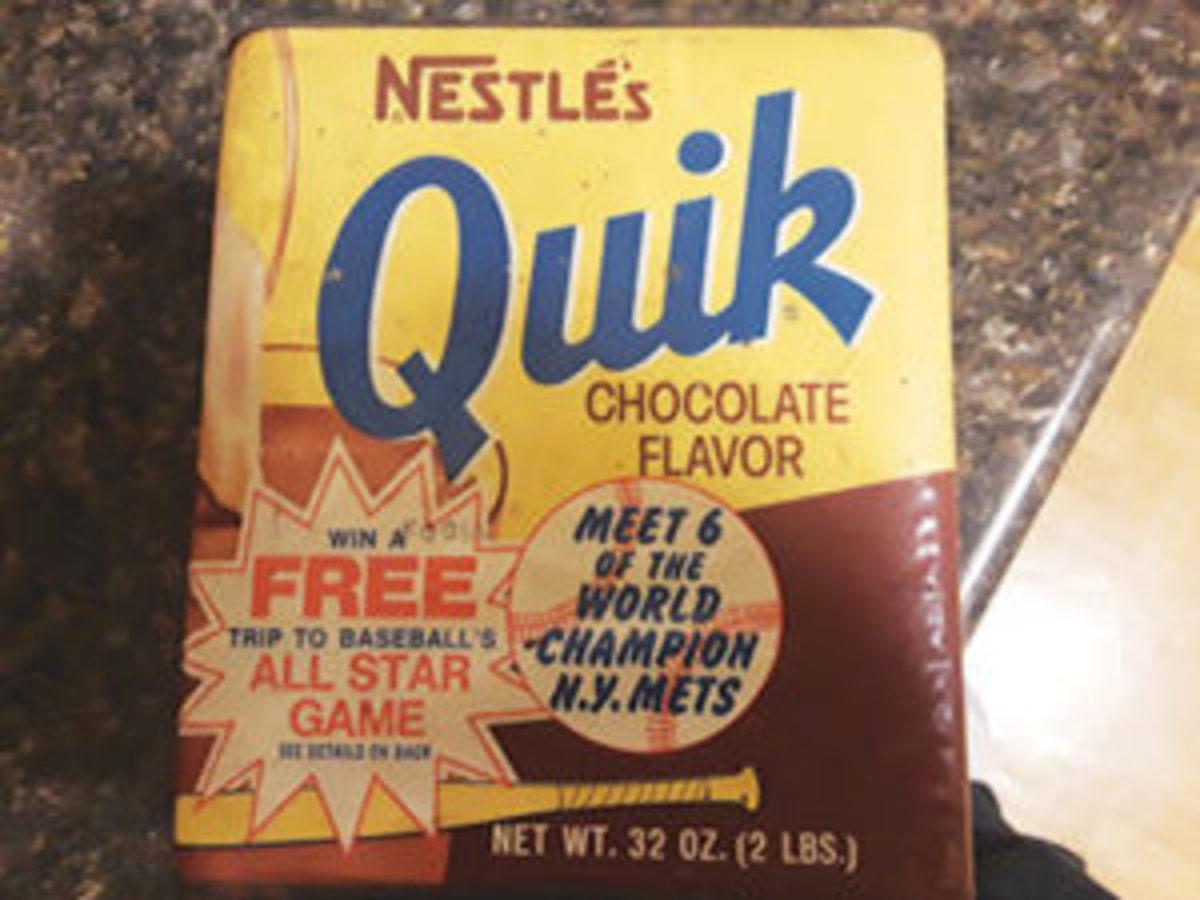 Vintage Nestle's Quik tin
