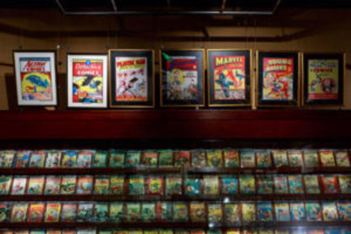 Geppi comic books