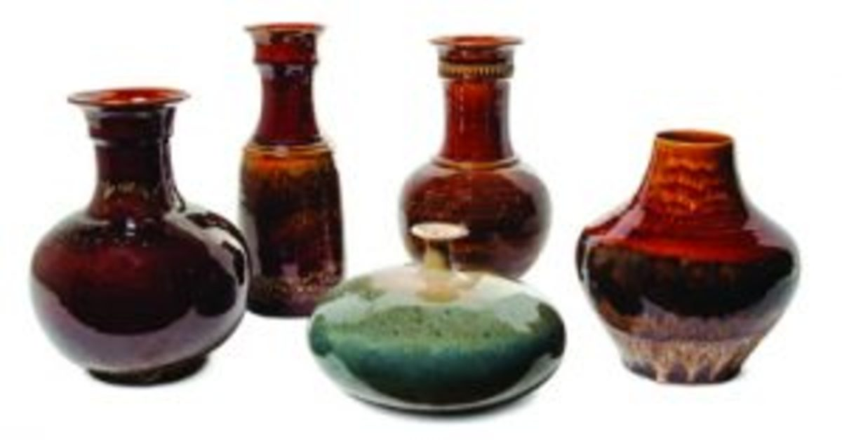 Sebastian Maglio_Haeger Pottery examples