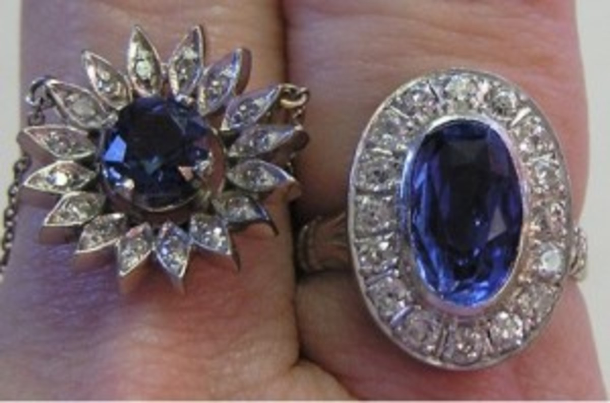 Sapphire and spinel