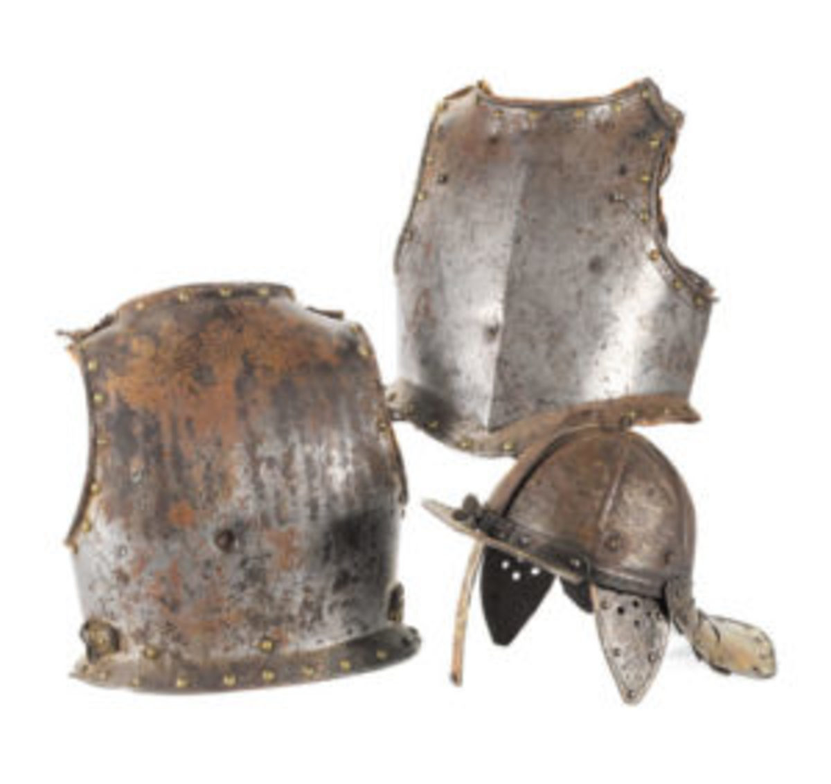 Cromwellian half suit of armor