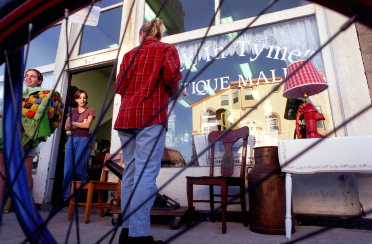 New rules may impact malls like the Back in Tyme Antique Mall in Huntington Beach, Calif. The store is housed in a building built at the turn of the century.Photo by Rick Loomis/Los Angeles Times via Getty Images