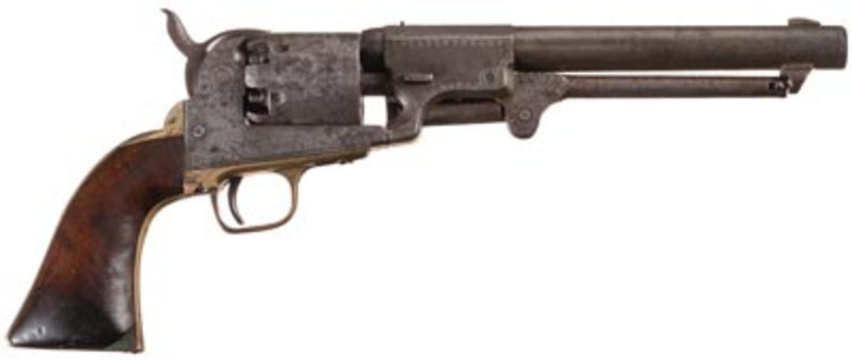 Dragoon percussion revolver