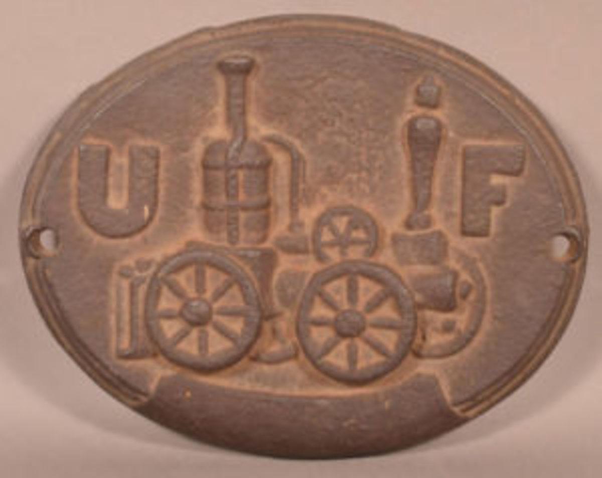 United Firemen's fire mark