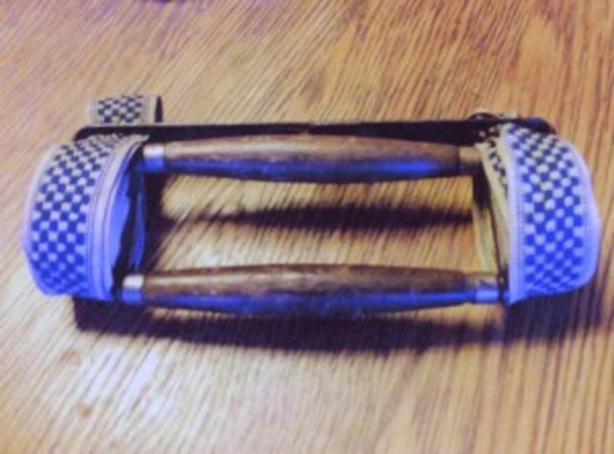 Victorian book strap.
