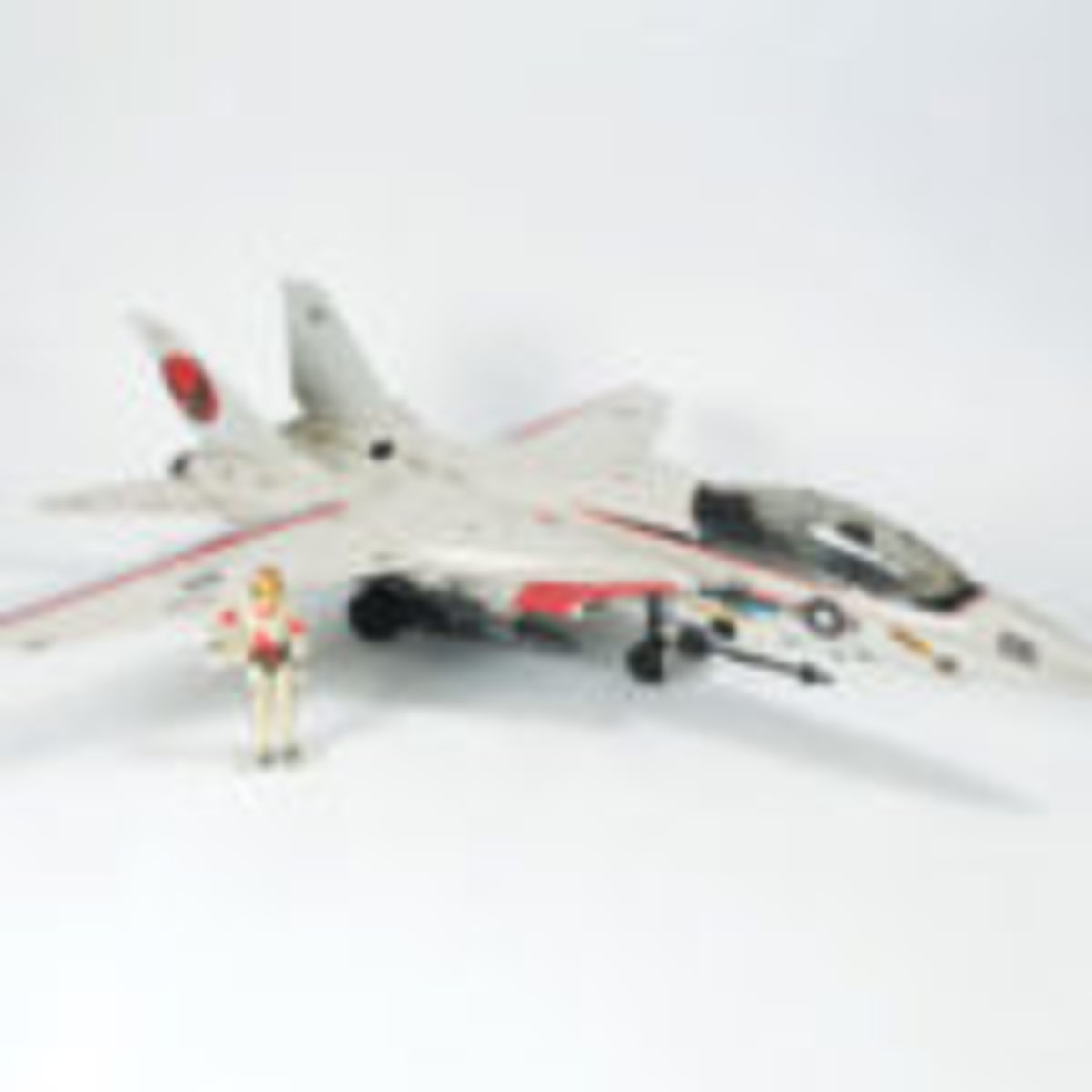 Skystriker (XP-14F), a combat jet complete with two ejection seats, was the crown jewel of may G.I. Joe collectors. Released in 1983, Skystriker is based on the Northrop Grumman Corporation's F-14 Tomcat. A challenge to find, a Skystriker in Mint in Sealed Box condition can be worth as much as $2,200.