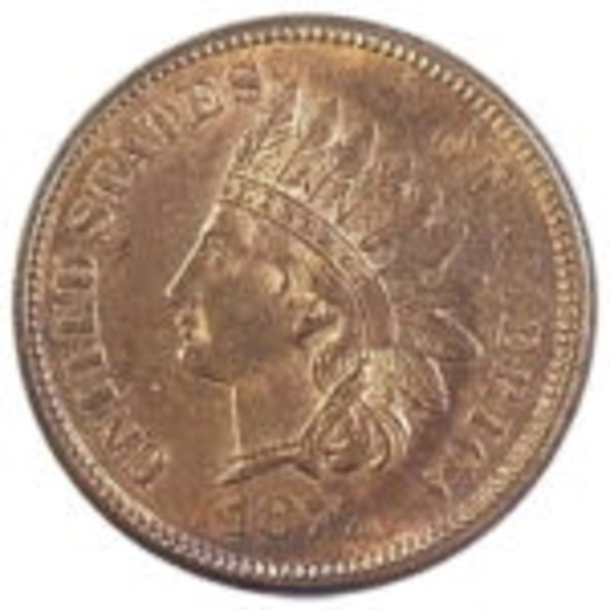 choice 1877 Indian head cent