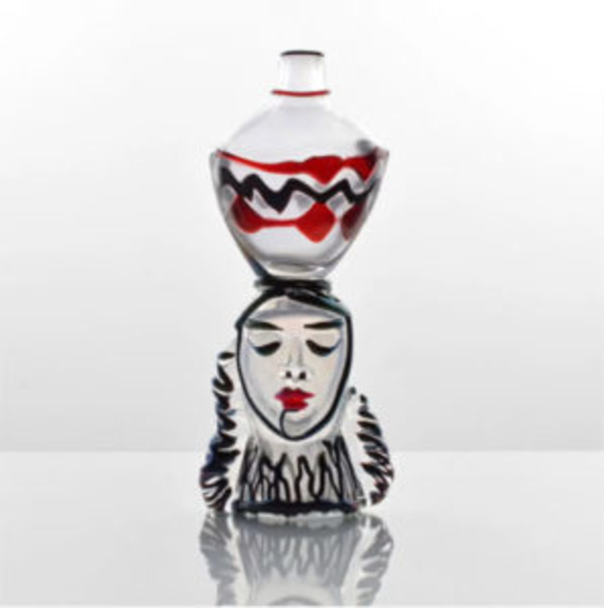 Modern design Murano glass sculpture