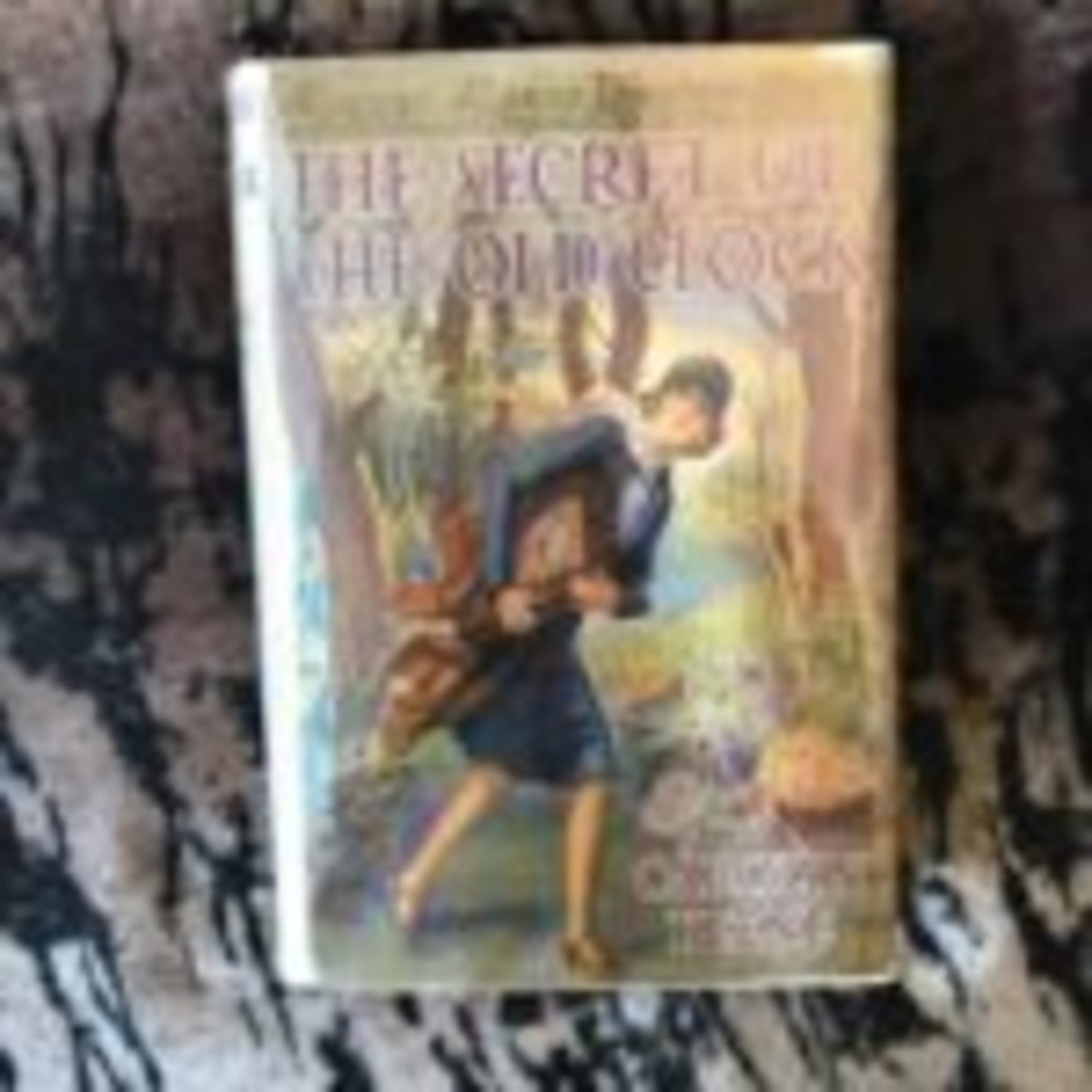 Nancy Drew 1930 The Secret of the Old Clock – the first Nancy Drew book – signed by ghostwriter Mildred Wirt Benson.