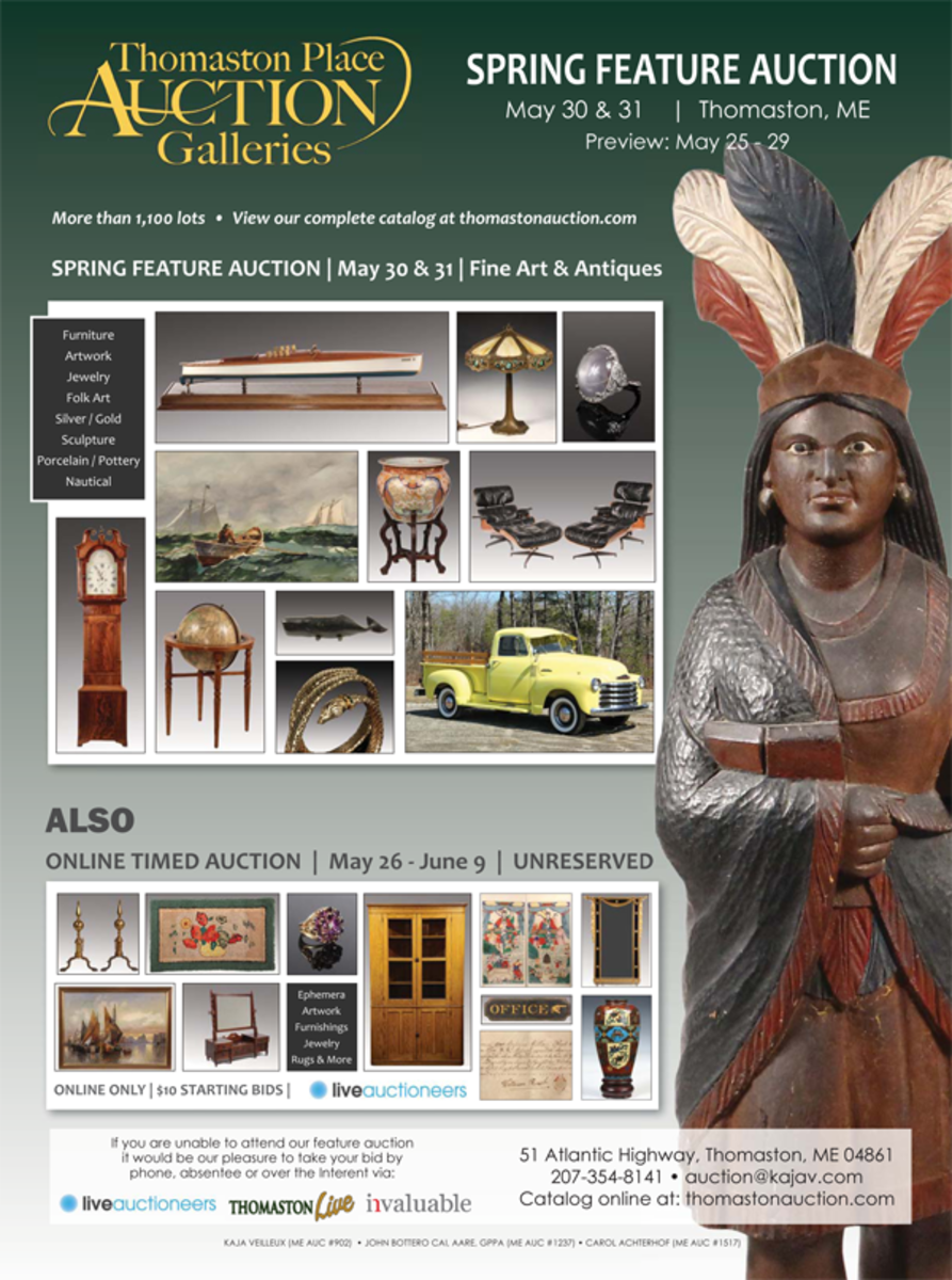 Thomaston Place Auction Galleries