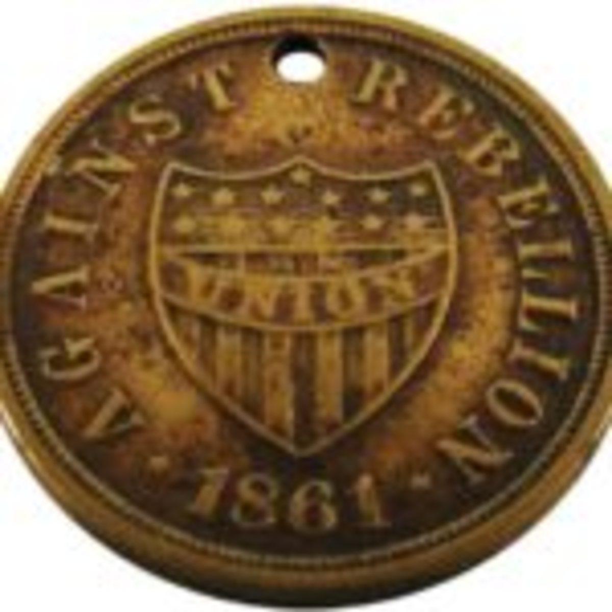 Authentic Civil War ID tag