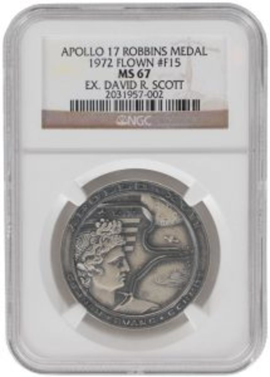 Apollo 17 Flow Robbins Medal