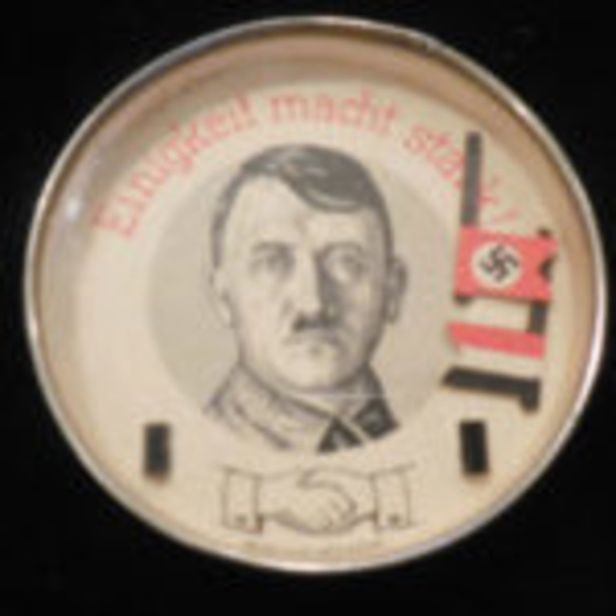 A Hitler/Nazi dexterity puzzle from the Herb Bassett Collection. Courtesy of Herb Bassett.