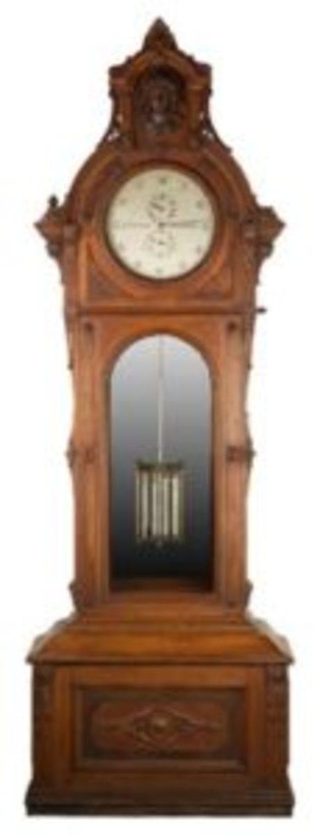 George Jones regulator clock