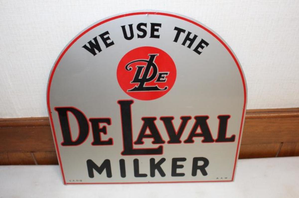 De Laval Milker sign