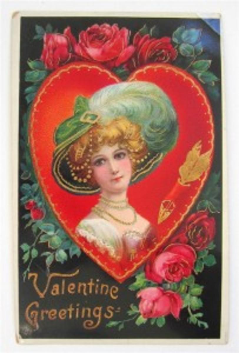 Century-old valentine