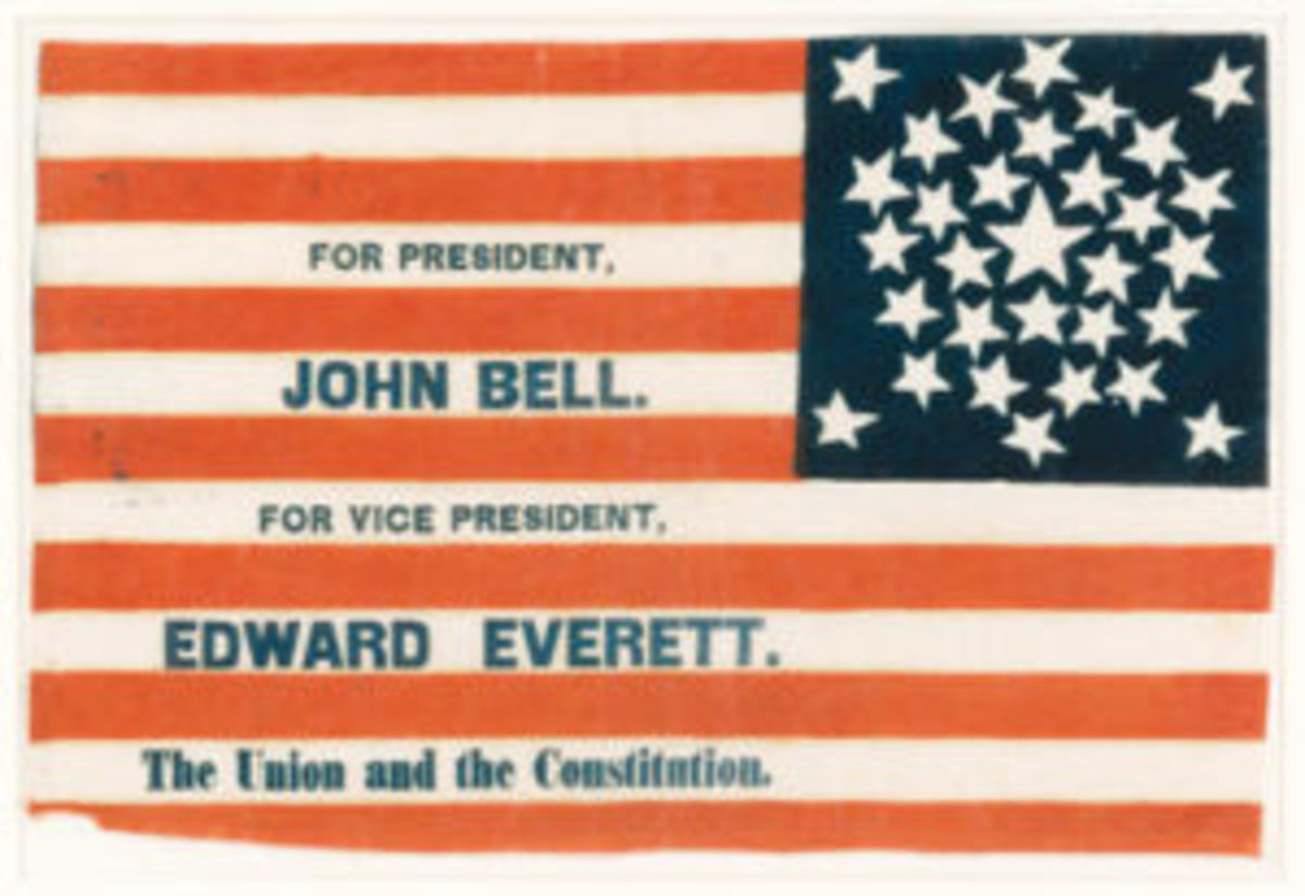 Bell Everette parade flag